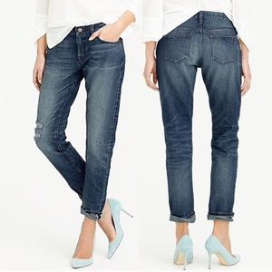 J Crew Slim Selvedge Broken-In Boyfriend Jeans
